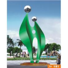 2016 New High Quality Fashion Urban Statue Outdoor Decoration/Modern Garden Sculpture 304 Stainless Steel Statue