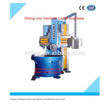 CNC lathe machine China cnc Vertical Lathe machine price for hot sale in stock