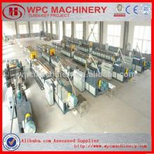 Wood shavings/pellet/sawdust/rice husk+PVC powder composite WPC PVC Board Machine/PVC foam board machine