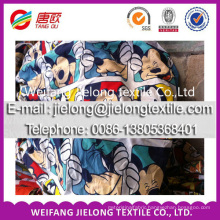 Factory supply high quality polyester fabric stock for bedsheet
