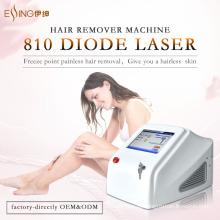 Máquina de remoção permanente de cabelo de pulso longo de sistema de laser de diodo Essing 808nm boa redução de uso em salão de beleza