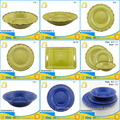 "factory offer 11"" rust color rim restaurant serving dishes"