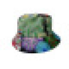 Eimer Hut mit Blumenstoff (BT034)