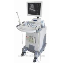 Trolley medizinischer Ultraschall mit 3 Schallkopf-Ports