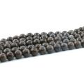 L-0572 4-10mm Floco De Neve Suave Rodada Marrom Natural Gemstone Beads para DIY