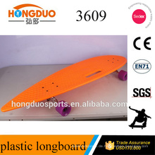 PU-Rad Longboard Orange Longboard Skateboard