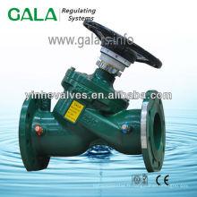 Vanne de régulation des soupapes d'eau à pression contrôlée