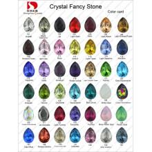 Carte de couleur: Point arrière Crystal Fancy Stone