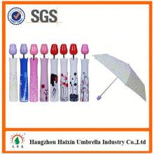 OEM/ODM Fabrik liefern Custom Printing gestreiften Regenschirm Werbeartikel Regenschirm