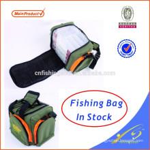 Bolsa de aparejos de pesca FSBG025 con caja de pesca de plástico