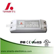 El CE enumeró la fuente de alimentación dimmable 6w de 220vAC a 24vDC TRIAC para las luces al aire libre del LED