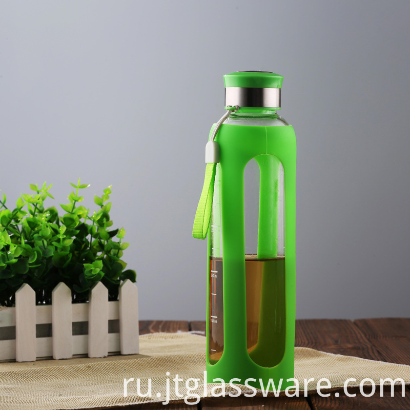 Custom glass water Sports Bottle