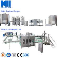 Mineral Water Bottling Plant Monoblock Filling Machine Liquor Equipment