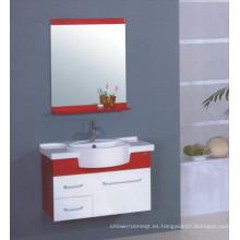 Muebles del gabinete de cuarto de baño del PVC (B-504)