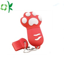 Cat-claw Silicone U Disk Cover USB Stofhoes