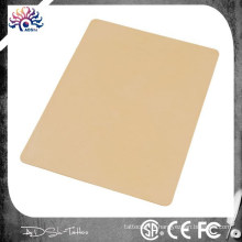 Tattoo Practice Skin Blank Rubber Sheet 20 x 15cm d'épaisseur 2 côtés utilisables, Blank Tattoo Practice Skin Skins Latex Sheet Rubber