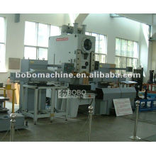 Automatic production line for punching and forming