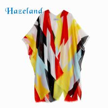 loose short sleeves beachwear boho beach cover up