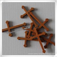 Handmade Wooden Cross, Religious Wooden Cross, Natural Small Wooden Cross (IO-cw001)