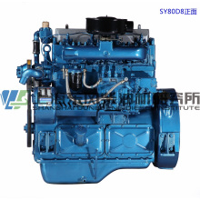 6 Cylinder, 154kw, Shanghai Dongfeng Diesel Engine for Generator Set