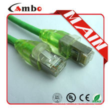 High Quality cat6 stp patch cord Shielded Cable RJ45