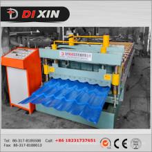 Machine de formage de carreaux de tuiles en tôle d'acier Dx 1100 couleur Dx 1100