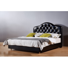 2016 Fashionable Luxury Leather Bed, Hotel Bed (LB006)