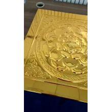 máquina de pulverización de espejo cromado