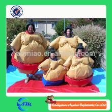 Venda quente nova inflável jogos de esportes espuma acolchoada sumo terno