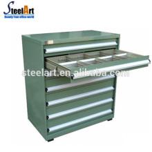 barato armários da ferramenta do armazenamento das gavetas da oficina do metal