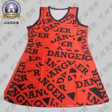 Avec des robes de logo Netball personnalisées