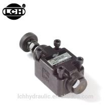 flow control valve automatically adjust hydraulic system