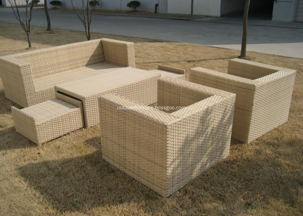 DLR1108-3 Garden Comfortable Classic Sofa Furniture Set