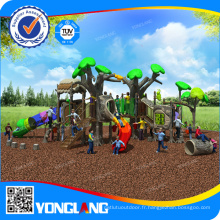 Équipement de terrain de jeux en plastique