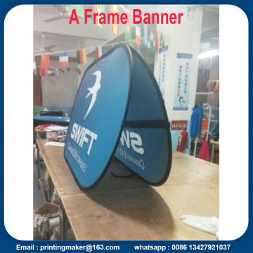 100x200 cm Sport Pop Up Stoff Banner