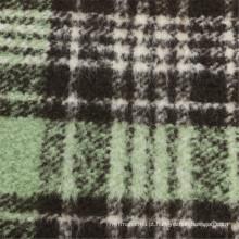 30% Lã 70% Tecido de poliéster Mulheres de lã verifica vestuário