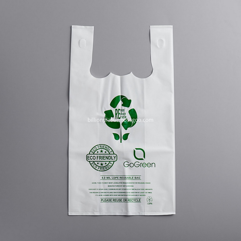 White Plastic Grocery Bags