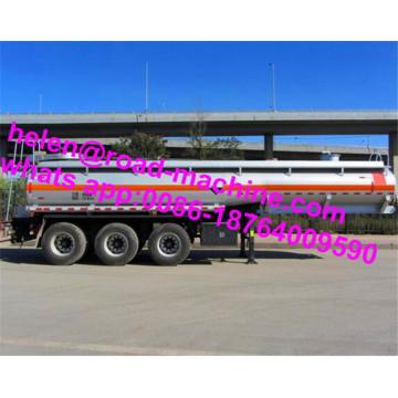 Semi-reboque tanque de transporte de ácido sulfúrico concentrado