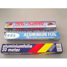 papier d'aluminium pour stratification
