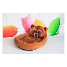 Мультяшный теплый матрас для домашних животных Wo для собак Товары для животных