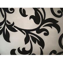 Flocking Organza Fabric