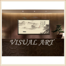 Wood Frame Traditional Art Definition