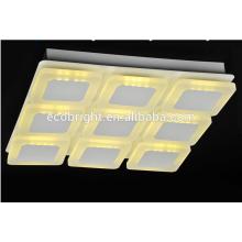 2015 году новый дизайн! Благородных мода площадь гостиной светильник светодиодный свет потолок