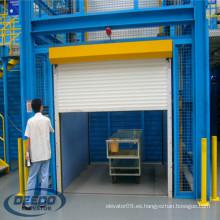 Lift Building Factory Electric Passenger Warehouse Mercancías Elevador