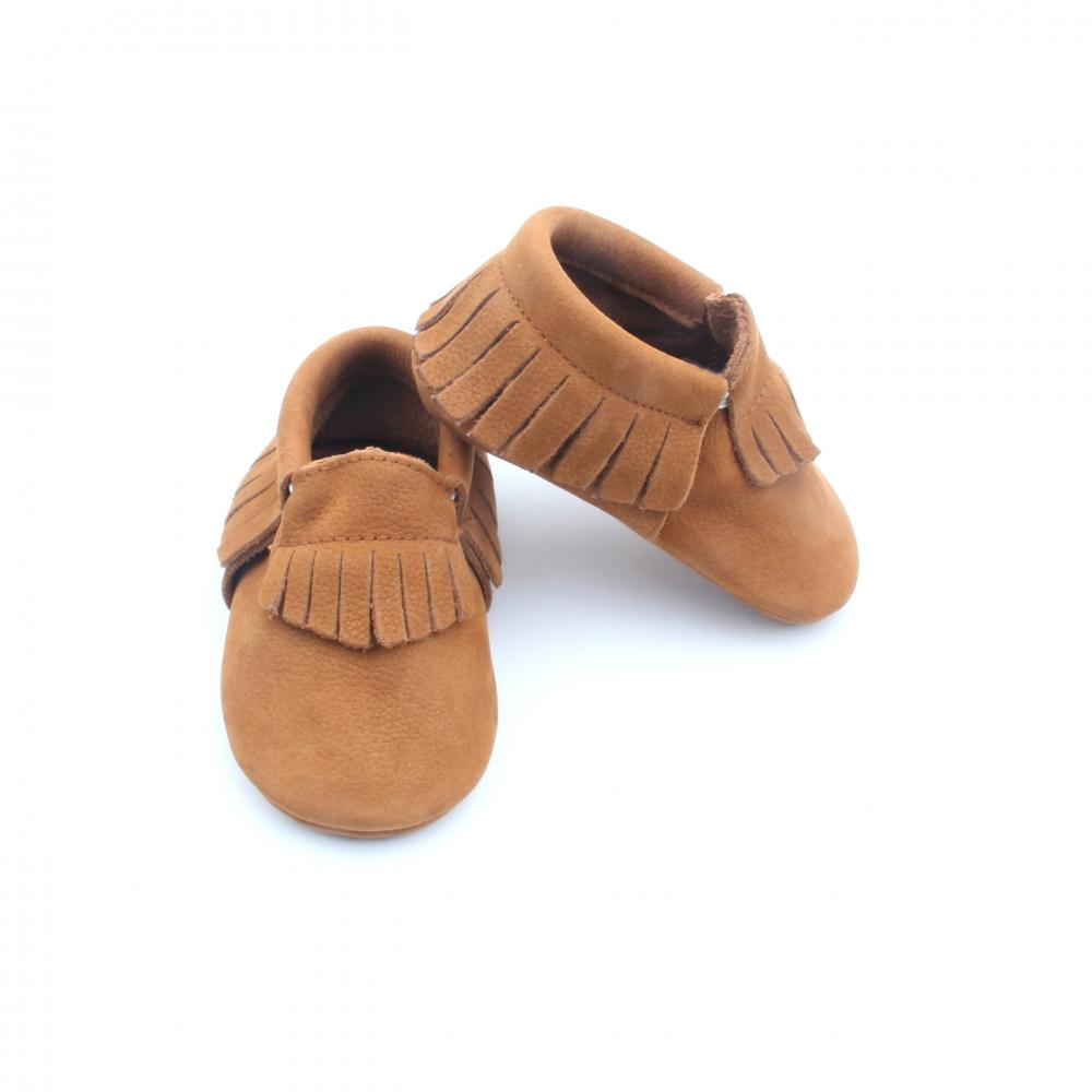 Wholesale Genuine Leather Baby Moccasins