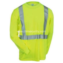 Men's High Visibility Yellow Long Sleeve Shirt