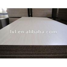 E1 glue white cherry melamine particle board