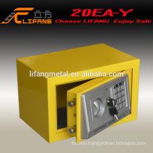 Popular sale cheap colorful digital home safe box 20EA