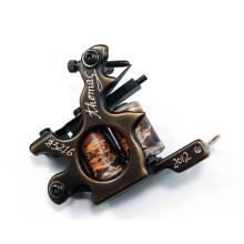 Hochwertige Spule Messing Carving Tattoo Maschinengewehr