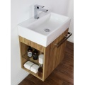 Solid Wood Particle Board Bathroom Vanities Cabinet